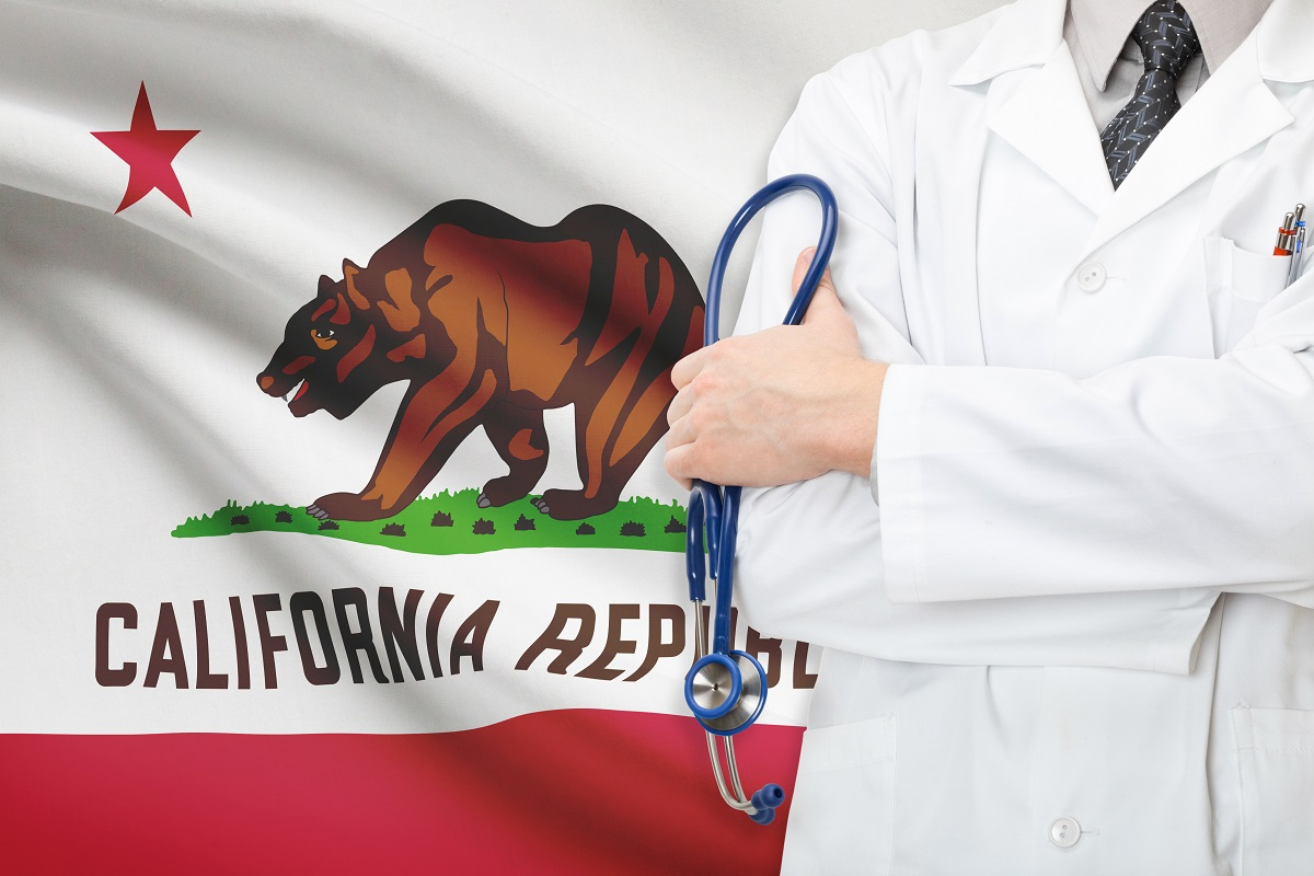 Concept of US national healthcare system – state of California
