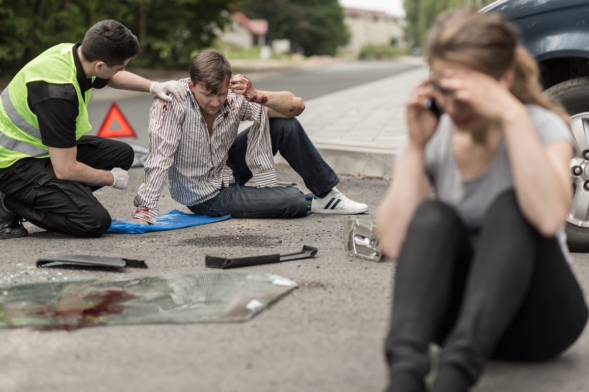 Victims of car accident